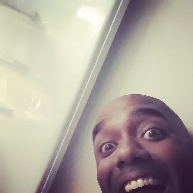 Midnight snack selfie!  Midnelfie!  Selfzzzzzzzzzz… #selfiegram #allthefilters