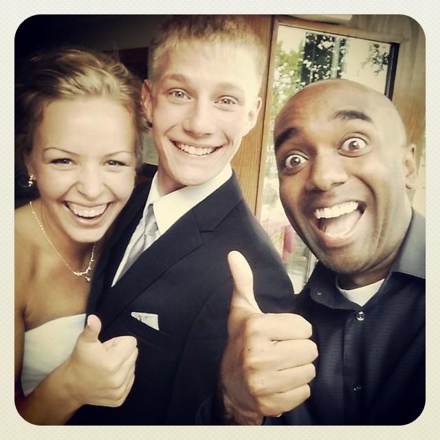 Wedding selfie!  Congratulalfie!  #selfiegram