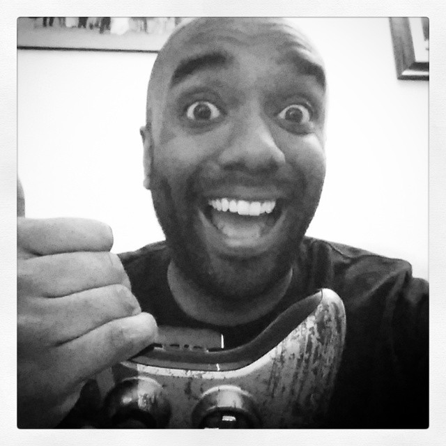 Just-posted-a-Vine selfie!  Gowatchitfie!  #selfiegram #vine