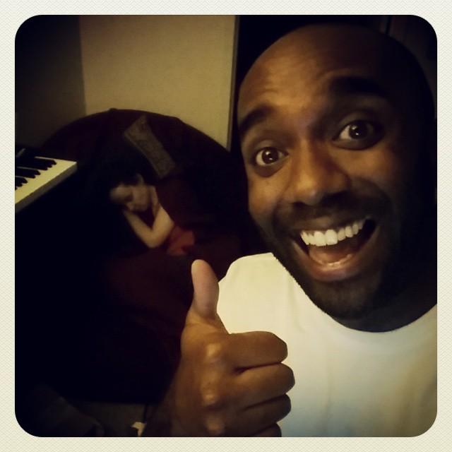 Sleeping-wife selfie!  Sleewelfie! #selfiegram