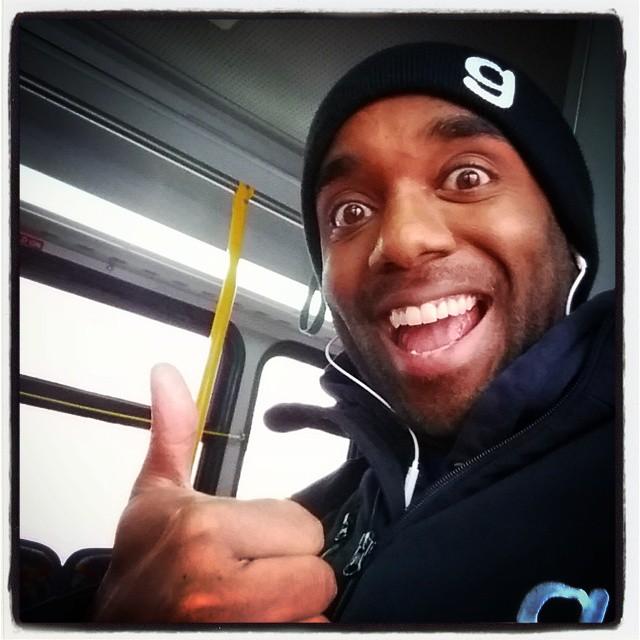 Bus selfie!  Belfie!  #selfiegram