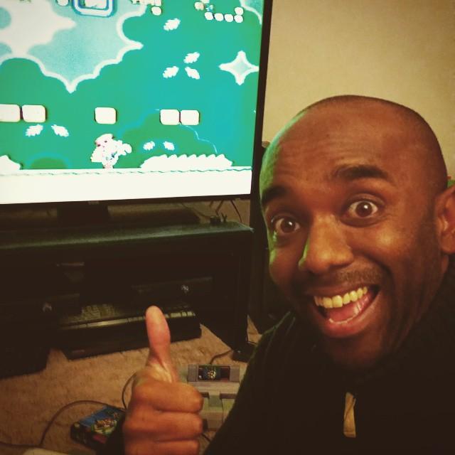 Super Nintendo selfie!  Supninfie!  #selfiegram