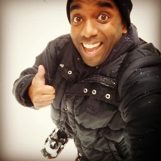Snowshoeing selfie!  Snoshelfie!  #selfiegram #ihatewinter