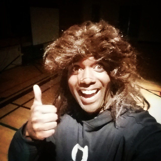 Awesome hair selfie!  Mullelfie!  #selfiegram