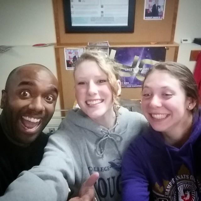 Triple younger sibling selfie!  Tripyosibelfie!  #selfiegram