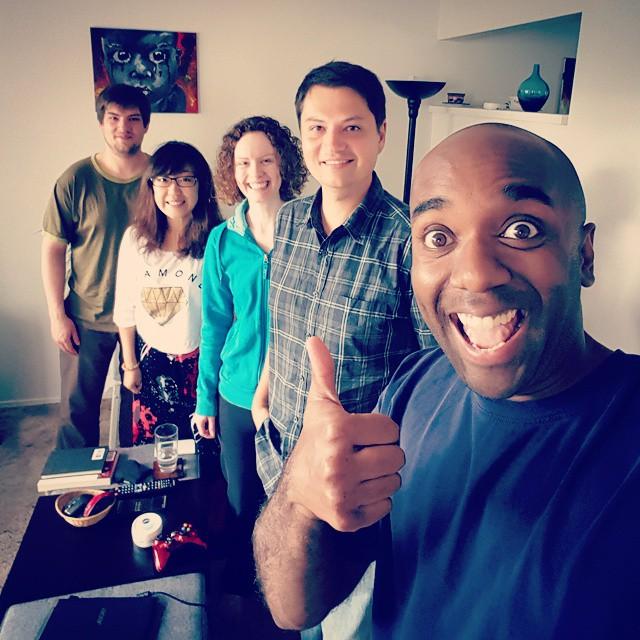 Old friends, new wives selfie! Olfrinewelfie! #selfiegram