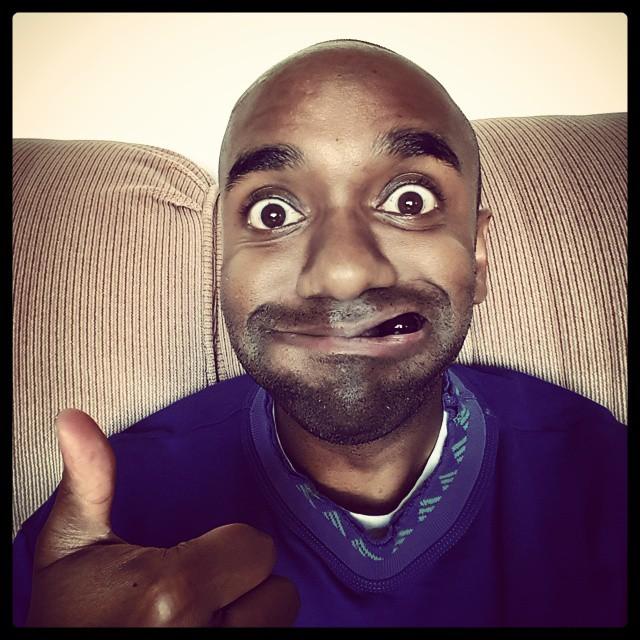 Mouthful of grapes selfie!  Moografie!  #selfiegram