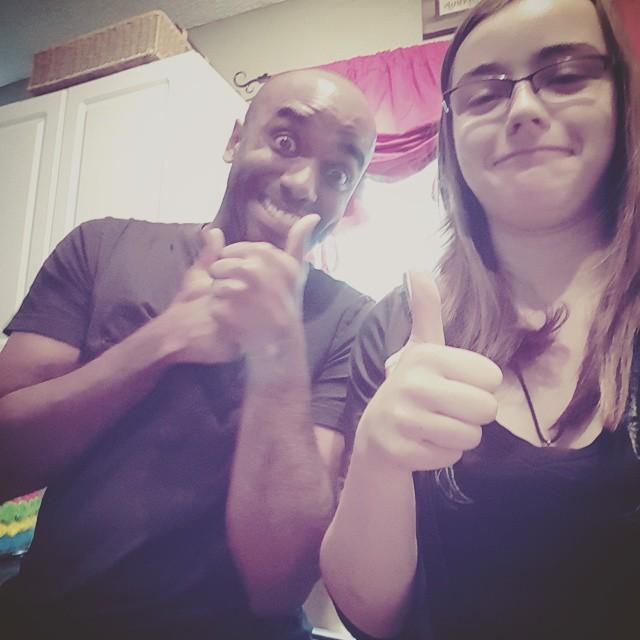 Guest-instagrammer selfie!  Guinelfie!  #selfiegram