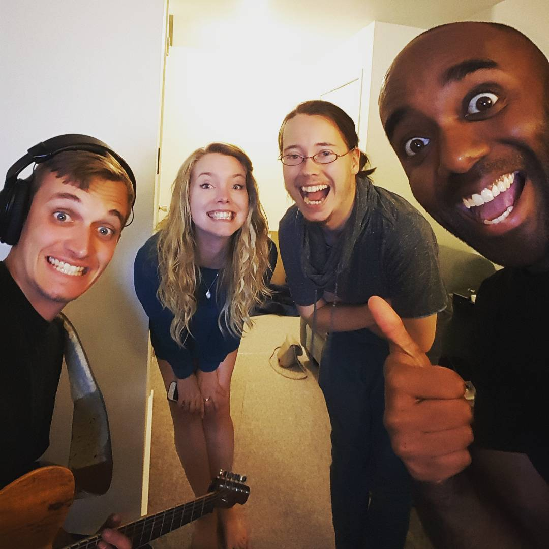 All-star recording session selfie! Alstreselfie!  #selfiegram #plusme