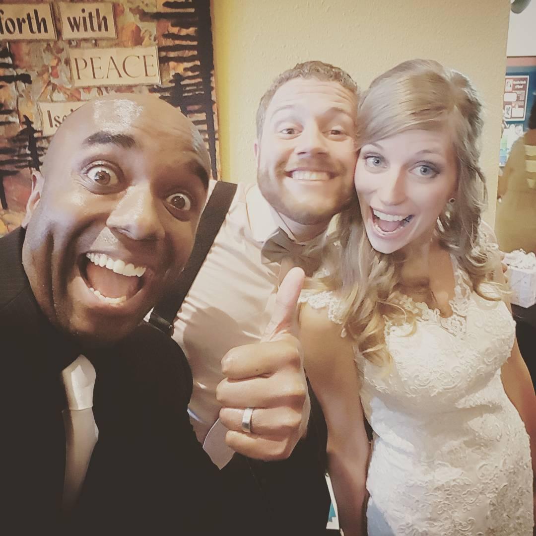 Newlywed selfie!  Congrelfie!  #selfiegram