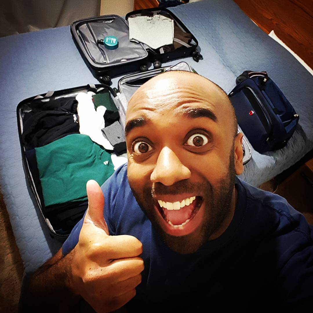 Packing for vacation selfie!  Pavacelfie!  #selfiegram
