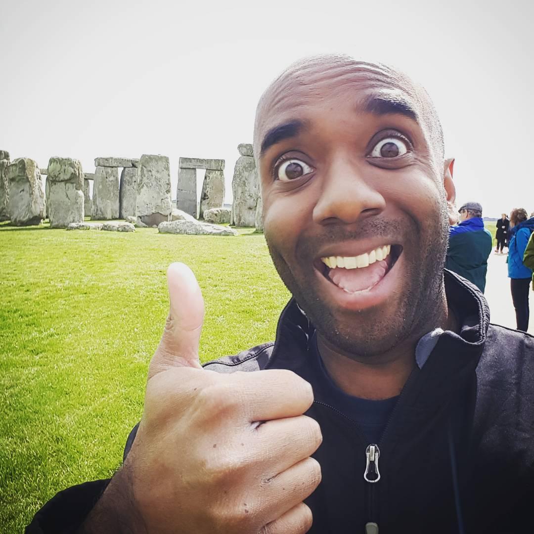 Stonehenge selfie!  Stohelfie!  #selfiegram #itsabitbigforacalendar