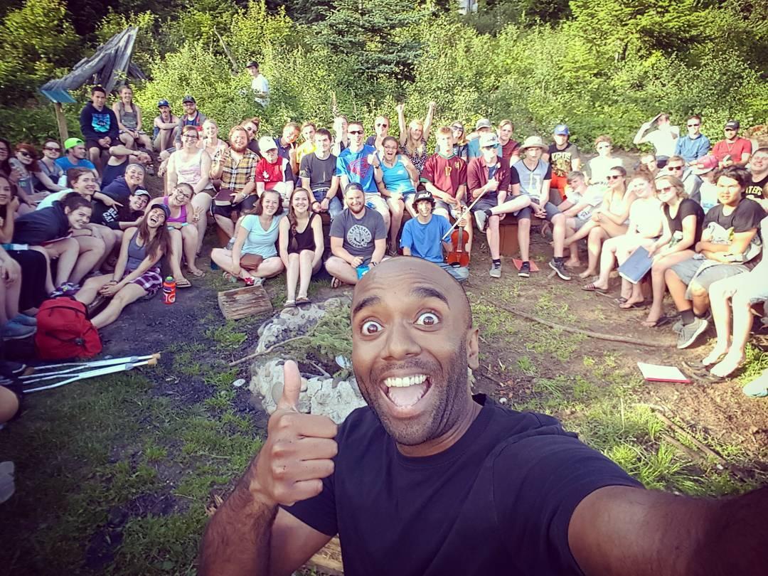 Ness Lake Bible Camp staff selfie!  Nelabicamelfie!  #selfiegram