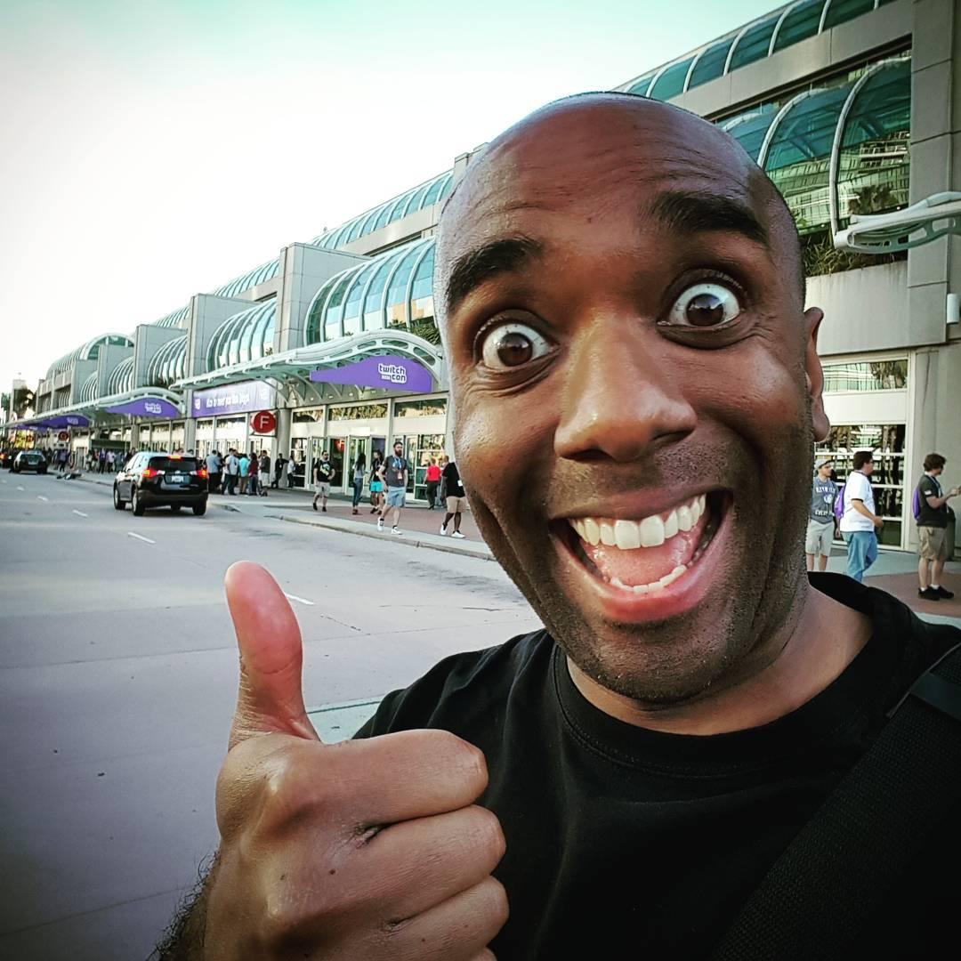 TwitchCon selfie!  Twicelfie!  #selfiegram #twitchcon