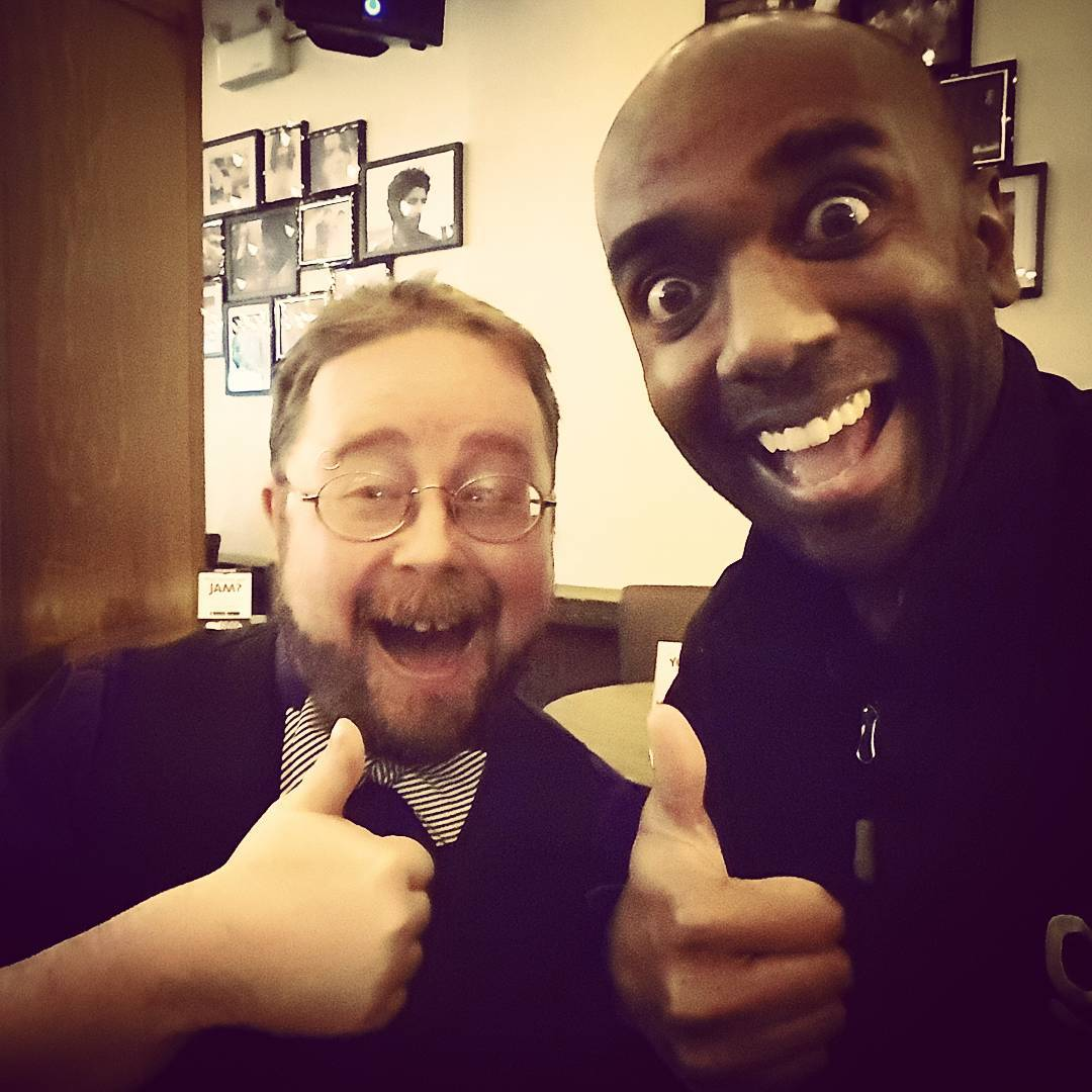 Allan Mott selfie!  Almelfie!  #selfiegram #yeg #twitterbuddies