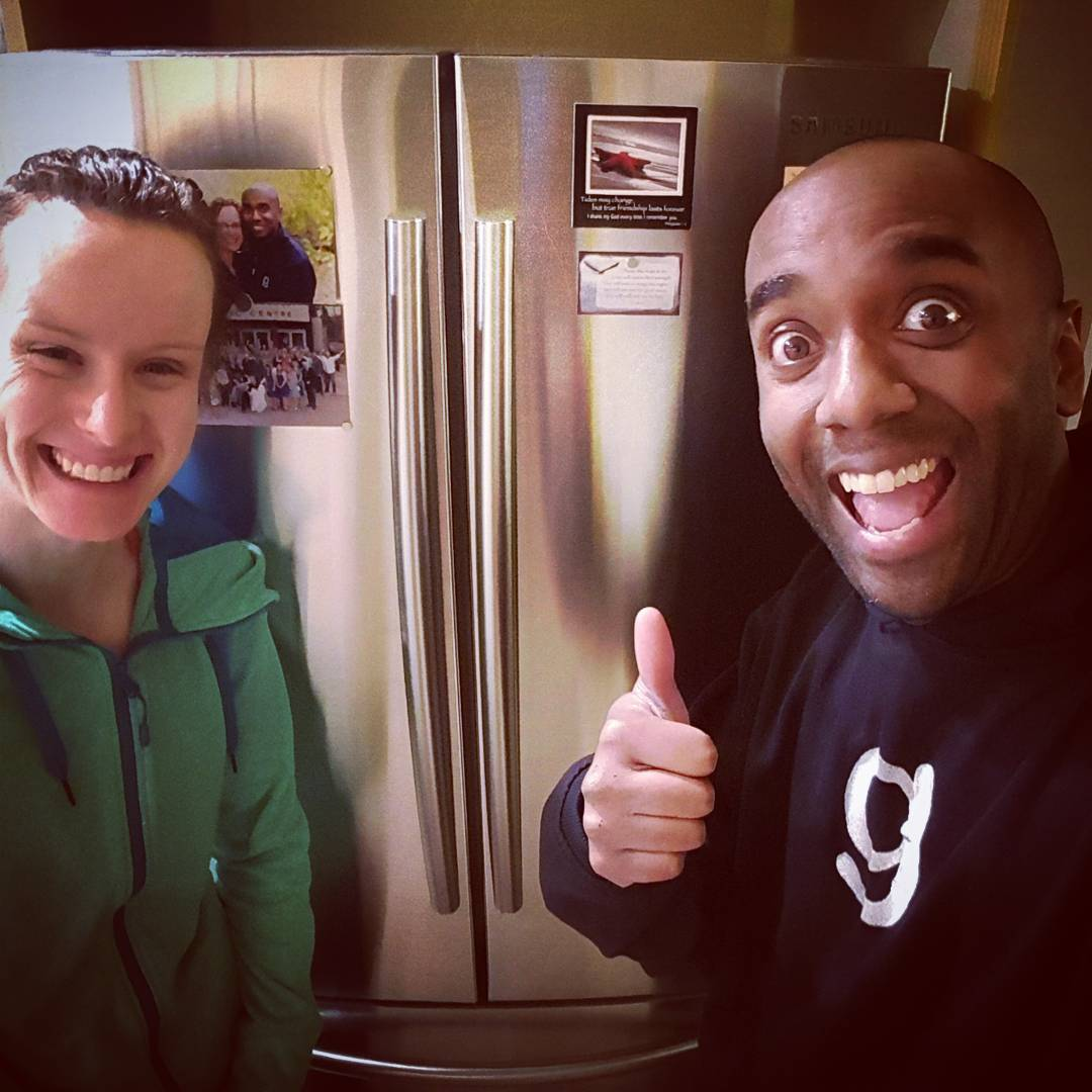 New fridge selfie!  Nefrelfie!  #selfiegram #yolo #swag #yoloswag #ripoldfridge
