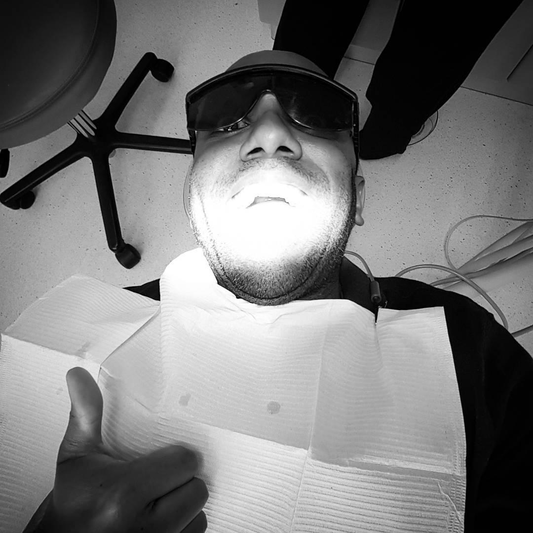 Pearly whites selfie!  Pearwhelfie! #selfiegram #mydentistsaysihaveexcellentoralhygiene #listerine