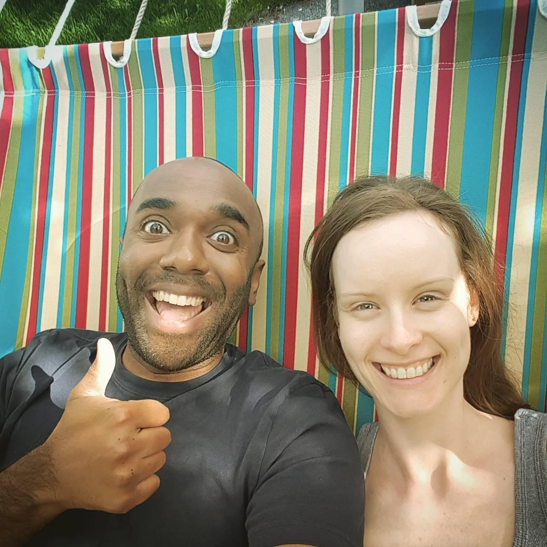Hammock selfie!  Hamelfie!  #selfiegram #dangerous #iamgoingtofallout #whowantstogoforaspin