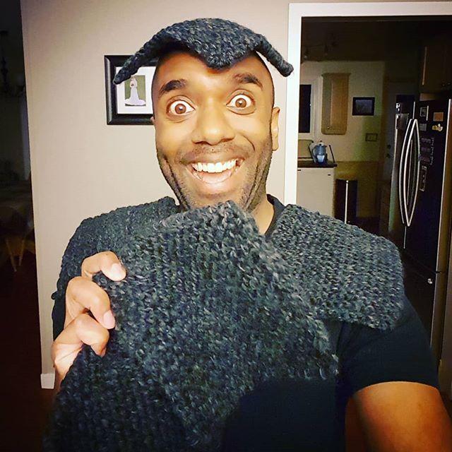 Homemade potholders selfie!  Hopohelfie! #selfiegram #yolo #swag #yoloswag #knitting #stillbad