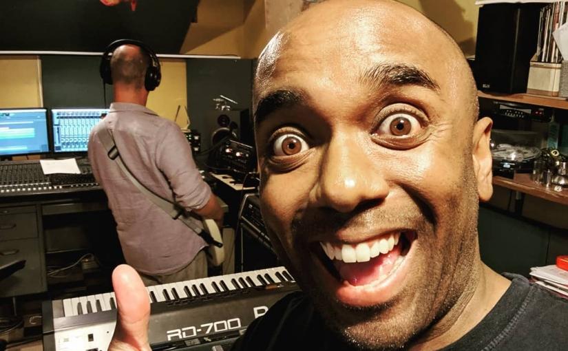 Recording with Karl selfie! Rewikelfie! #selfiegram #newmusic #wroteittoday #hesdoingbassrigtlhtnow #iamnotadrummer