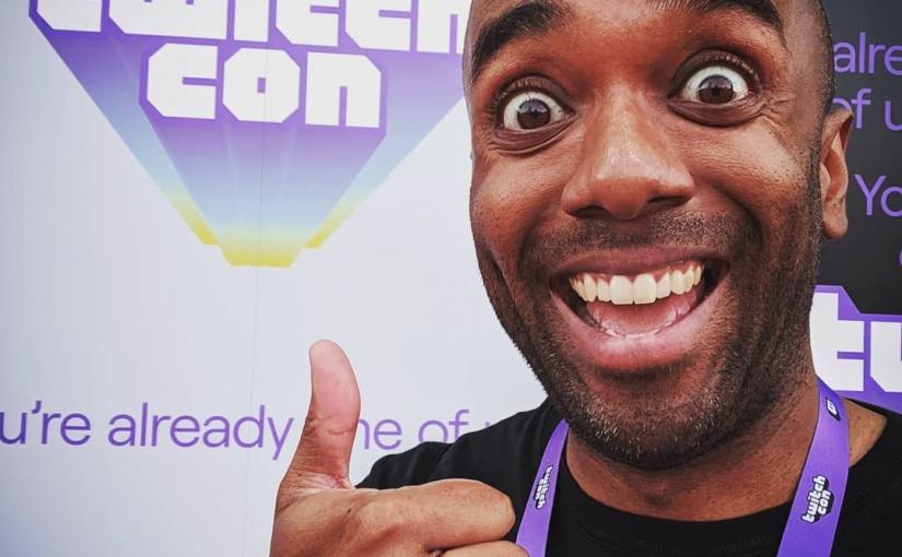 TwitchCon selfie!  Twicelfie!  #selfiegram #myfeethurt #twitchcon #savingupfor2020