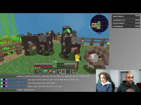Twitch Highlight – Minecraft – Animals is hard.