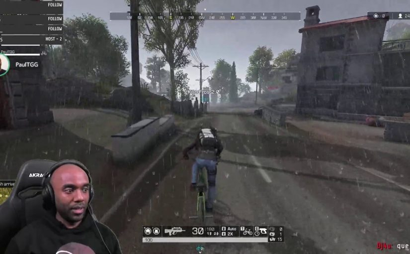 Twitch Highlight – Ring of Elysium – Why we can't have nice things.