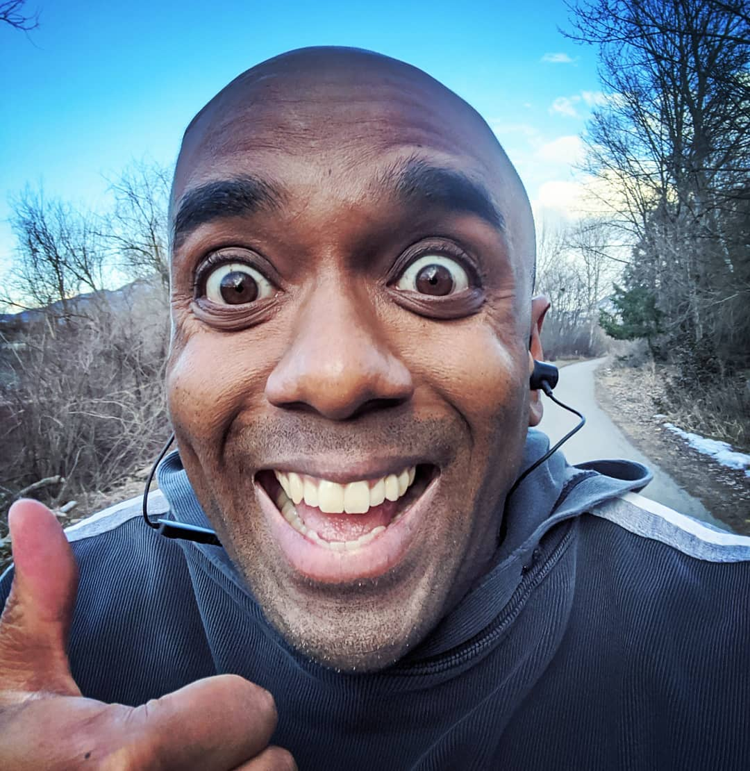 First run of the year selfie! Firuotyelfie! #selfiegram #getfitordietrying #getfitanddietrying #outofshape #fitfam #fatfam #mykneeswillreturnafterawordfromoursponsor #notsponsored
