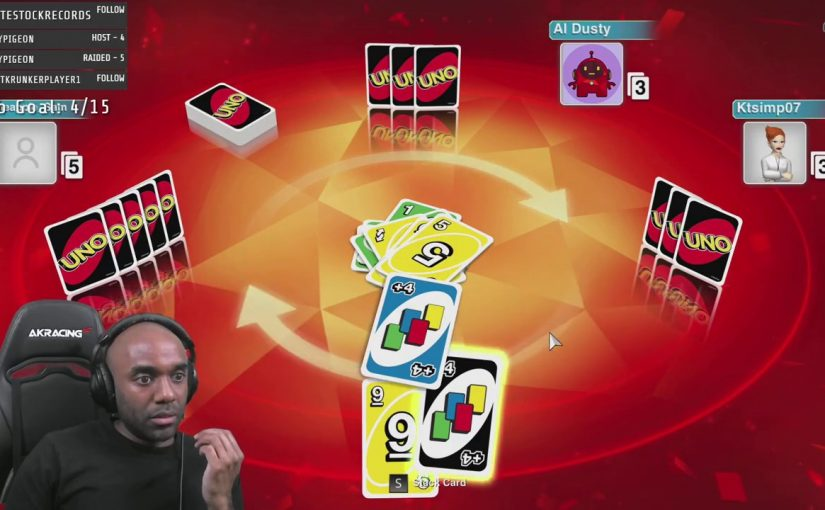 Twitch Highlight – Uno – Whoops